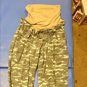 Camouflage Maternity Pants